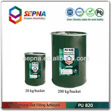 High elasticity water resistance polyurethane epoxy floor level joint sealant PU820