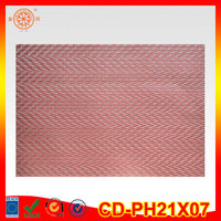 PVC Waterproof Placemats best selling fashion placemat custom pvc heat insulation pad