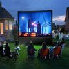 popular hot selling promotional inflatable projection screen