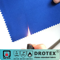 The best quality cotton fireproof antistatic and anti-acid drill cloth for protective clothing
