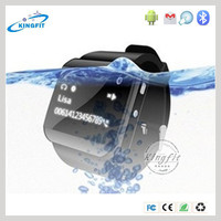 Affordable price 1.5 inch LCD touch screen waterproof silicone bracelet multifunction wrist women watch for Iphone 6