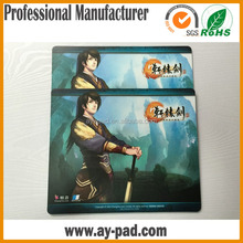 AY fashionable EVA mouse pad league of legends/gaming mouse pads for promotion