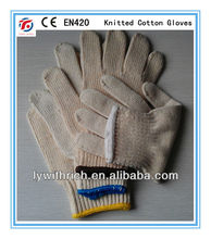 poly cotton gloves , cotton hand gloves
