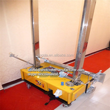 Zhengzhou Sincola 2014 new plaster mods wall spray plastering machine with 120cm plaster trowel