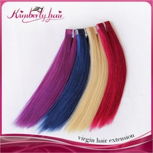 ( Black/Pink/Purple/Dark Blue ) can be customized dark blue hair extensions