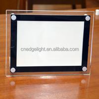 Edgelight Cheap price !!! Acrylic photo frame acrylic picture frame