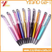 advertising ballpoint pen With diamond/plastic ball pen with custom logo