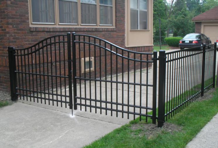 Cerca de hierro forjado y modelos de puertas de hierro - Modelos de puertas de hierro ...