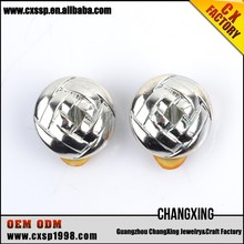 Good quality fashion jewelry silver earrings balls