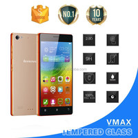 Low price China mobile phone 9h tempered glass screen protector for lenovo vibe x2