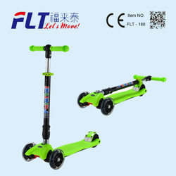 Hot Selling Cheap quickly foldable outdoor sports kids kick scooter for sale