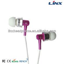 2015 new in-ear earphone,silicone earphone rubber cover, mobile earphone