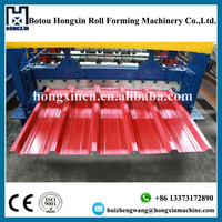 Popular Steel Coil Roof and Wall Tile Roll Forming Equipment Made in China