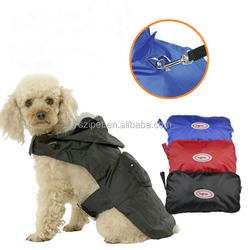 PET raincoat waterproof nylon folded pocket with soft mesh inside IPET-PC10