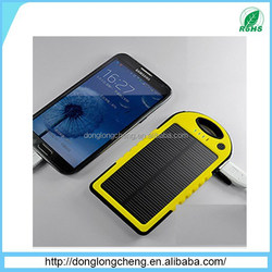 solar powered cell phone battery charger