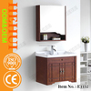 3RC-842 rubber wood bathroom vanity and stainless steel bathroom vanity for bathroom vanity canada