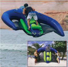 2014 hot sale inflatable water toys/inflatable manta ray rider for water game