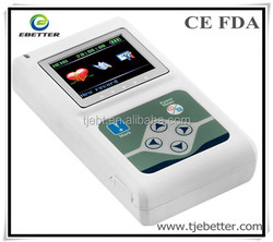 Promotion product 2014 New product digital 3 Channel Holter ECG machine-ECG holter with CE mark