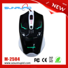 weighted metal inside 4D purple lamp 4 dpi level high quality gaming mouse