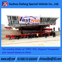 SPMT Self-propelled modular transporter, low bed trailer 100 ton