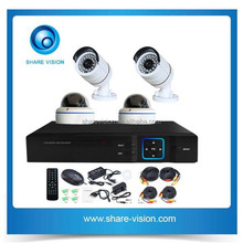 2015 hot sell 4 channel onvif outdoor indooor nvr ip camera set