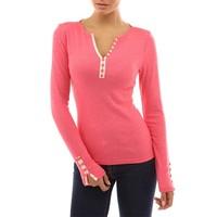 hot sale designs custom tshirts v neck sexy slim long sleeve t shirts manufacturers china AL0199