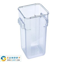 PC food warmer container 12QT container for food with compartments for NSF airline food container (SY-SC11E SUNRRY)