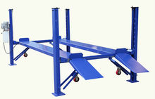 Cheap 4 post double cars parking mobile parking lifts
