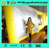 shinning pvc tarpaulin material made Portable mobile inflatable spray booth