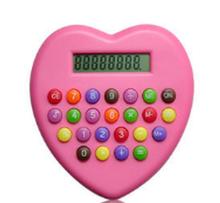Mini Colorful Heart Shape Calculators