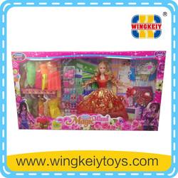11.5 inch fashion doll baby doll little girl love doll models