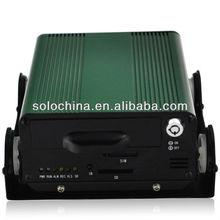 H890A--4 canales HDD resistente a las sacudidas del dvr del coche móvil de la tarjeta sim 3g con el sistema akarm