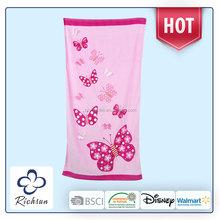 Bordados personalizados jacquard toallas de playa