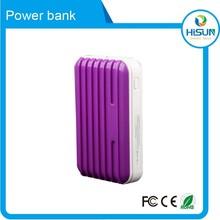 2015 wholesale portable mobile power bank 5400mah solar mobile phone charger
