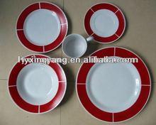 New year tableware dinnerware set,high grade porcelain tableware