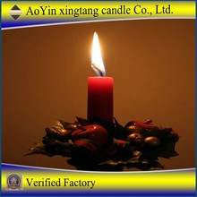 China light candle with good quality / decoratice wax candle manufacture