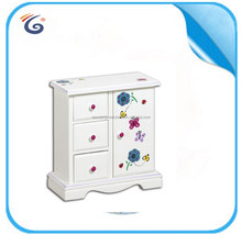HOT wooden toy chest multi-drawer wood chest with beautiful printings EB1505100
