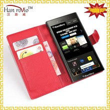leather bags for BlackBerry Z3 mobile phone holder case