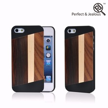 Fashion Real wood for bamboo case iphone 5