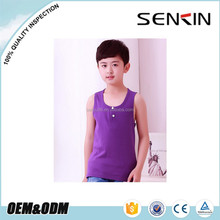 baby boys tank tops, super soft cotton childrens clothes by China clothing factory