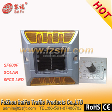 High powered super brightness safety led flashing road marker