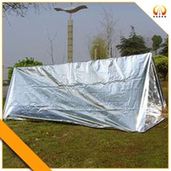 EMERGENCY TENT SHELTER FOR HIKERS, OUTDOORS STRONG & LIGHT WEIGHT