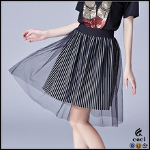 CCS041 Women Black office designs skirts party skirts