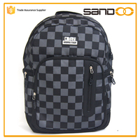 Free sample waterproof custom hot shot backpack bag for slim laptop