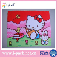 Personalized custom print microfiber lens cleaning cloth wholesale