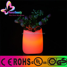 fashional led pot bluetooth speaker with remote control