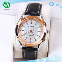 Leather Vogue Calendar in China Trending Hot Products Brand Watches Men