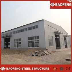CE standard stackable and foldable prefab steel frame warehouse/ metal building/residential house