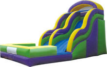 the best quality wave inflatable dry/wet slide