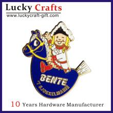 custom metalapel pins/country emblems/cute custom metal lapel pin